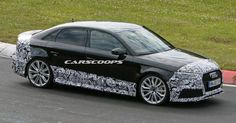 Scoop: New Audi RS3 Sedan Is On Its Way, Complete With 400 Horses