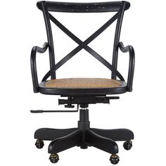 Cadence Desk Chair found on Polyvore