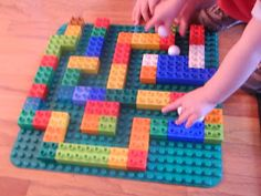 Lego Marble Maze!!! Great activity for Little Busy Hands!!!