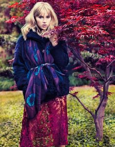 Vogue China - Suki Waterhouse: Walking on Clouds