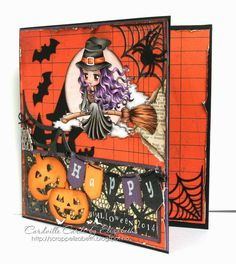 Cardville- Cards by Elizabeth: Halloween