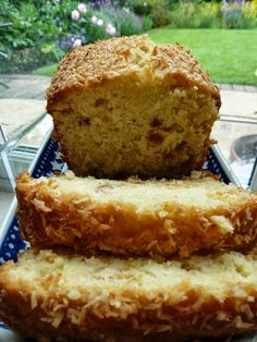 Cherry and Coconut Cake