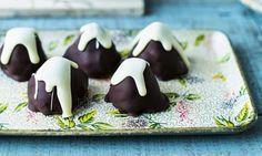 Japanese made easy: Mount Fuji white bean marzipan chocolates Japanese Chocolate, Mount Fuji, Japanese Sweets, White Beans, Marzipan, Chocolates, Make It Simple, Treats, Daily Mail