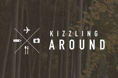 Kizzling Around travel blog logo by yoshinig