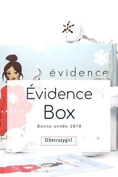 L'évidence box de janvier 2018 est une vraie réussite ! http://sthecrazygirl.blogspot.fr/2018/01/evidence-box-me-gate-pour-ce-debut.html Elle est remplie de cosmétiques avec de belles compo  #blog #boxbeaute #beaute #bio