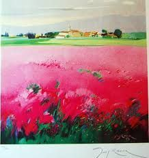 lluis roura - Buscar con Google Traditional Paintings, Wild Flowers, Fields, Collage, Watercolor, Fine Art, Abstract, Artwork, Acrylics