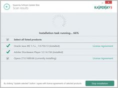 Kaspersky Software Updater is a free stand-alone tool which regularly checks for updates to critical software, alerts you when any are discovered, then downloads and installs them with a click.