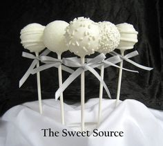 Cake Pops Wedding Cake Pops