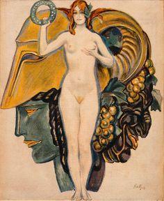 Jugend magazine cover art by Paul Rieth, 1919 Cover Art, Vintage Posters, Vintage Art, Art Nouveau, Art Deco, Magazine Art, Magazine Covers, Graphic Art, Artwork