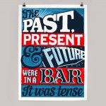 Past Present and Future (blue)
