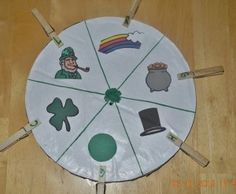 Learning Wheel-St. Patrick's Day
