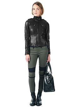 Danier leather motorcycle jacket