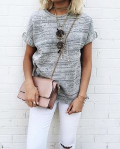Get fabulous looks like this one and many more delivered right to your door with Stitch Fix. Spring Summer Fashion, Autumn Winter Fashion, Spring Outfits, School Looks, Casual Outfits, Cute Outfits, Fashion Outfits, Moda Fashion, Runway Fashion