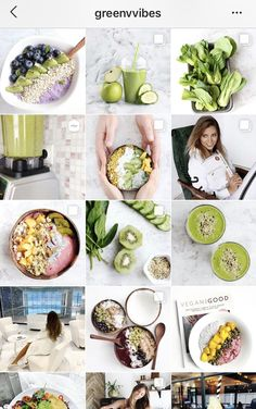 Instagram Feed Layout, Instagram Mode, Nature Instagram, Instagram Design, Feed Insta, Detox Juice Recipes, Greens Recipe, Instagram Highlight Icons, Food Themes