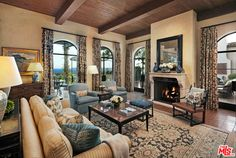 1590 E Mountain Dr, Santa Barbara, CA 93108 | 12,042 sf | 5 bed | 7 full 3 half bath | built 2005 | 2.44 acres | $27,900,000.
