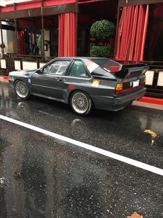 Quattro Audi Rs, Audi Sport, Rally Car, Car Car, E30, Maserati, Golf Mk1, Vw Cars, Sweet Cars