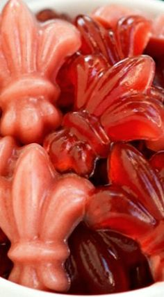 French Tea Gummy Candy - great for Mardi Gras! ❊