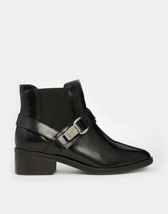Shop: ASOS ANGEL IN DISGUISE Leather Chelsea Ankle Boots $77 #tshoesalesyoudontwanttomiss
