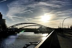Beauty in the sky #ilovehamburg #harbour #elbe #sunshine #sunset #water #boats #bridges #hamburg