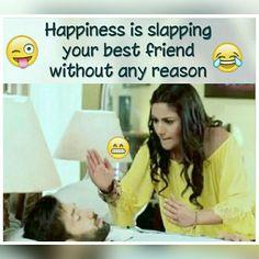 # Maryyum waseem sai mein bari khushi milti h😂😂 Funny School Jokes, Some Funny Jokes, Crazy Funny Memes, Really Funny Memes, Funny Facts, Funny College, Funny Humour, Hilarious, Best Friend Quotes Funny