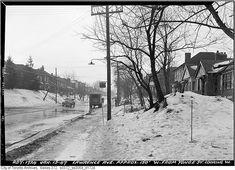 Old Toronto. Facinating Sunday Research Hurricane Hazel, Yonge Street, Toronto Ontario Canada, College Campus, Interiores Design, Aerial View, Historical Photos, The Neighbourhood, City