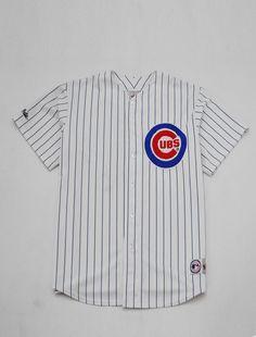6514753b Chicago Cubs Baseball Jersey XL | KYC Vintage Chicago Cubs Baseball,  Baseball Jerseys, Surf