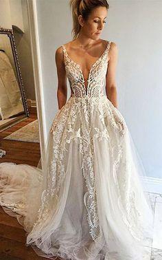 2017 wedding dresses,unique wedding dresses,lace wedding dresses,white wedding dresses,bridal dresses @simpledress2480