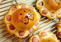 がおーがおー!ライオンさんパン|LIMIA (リミア) Cute Food, Good Food, Yummy Food, Kreative Snacks, Cute Baking, Bread Shaping, Bread Art, Food Garnishes, Food Humor
