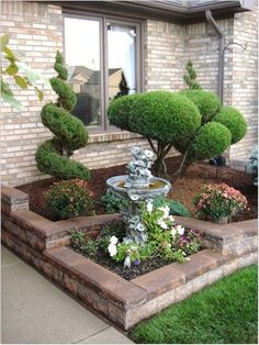 ↗40 + garden design for front and backyard landscaping as a reminder of love is like a beautiful flowering plant because of care (6) « Dreamsscape