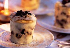 Les flans à la truffe et au parmesan