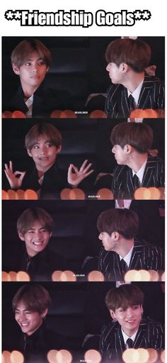 """You can see the """"jesus christ this is my bestfriend"""" in Jungkooks smile & eyes😂😂 Also Taehyung dancing to """"Yes or Yes"""" is cute as hell Taehyung, Bts Bangtan Boy, Jungkook Smile, Bts Memes, Vkook Memes, Taekook, K Pop, Foto Bts, Jung Kook"""