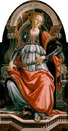 Sandro Botticelli - Fortitudo