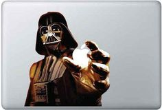 Star Wars Sticker for MacBook Pro Air 11 13 15 17/ iPad by macbookdecal2: $11.00  #Sticker #Star_Wars #MacBook #macbookdecal2