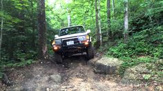 1997 Toyota Land Cruiser 80 in Daniel Boone National Forrest Kentucky. Land Cruiser 80, Toyota Land Cruiser, Offroad, Kentucky, Off Road