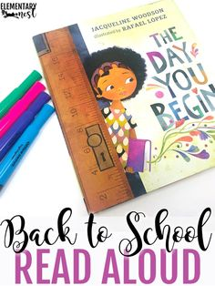 back to school read alouds are perfect for the first days of school. There are 10 back to school books that I have suggested for you to read in the first week. They are great read alouds. First Day Of School Activities, 1st Day Of School, Beginning Of The School Year, I School, School Grades, School Themes, School Ideas, Back To School Art, School Opening