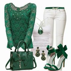 This would be such a great Slytherin outfit