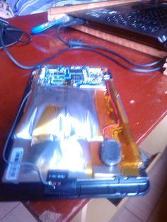 Bateria estufada do tablet