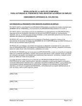 Resolución - Modelos de documentos por tipo   Biztree.com