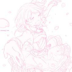 creamy-san:  Credit// Manga Girl, Manga Anime, Anime Art, Pink Art, Pastel Art, Pastel Pink, Pink Aesthetic, Aesthetic Anime, Anime Sketch