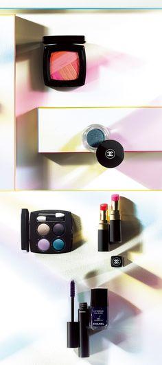 色と光の予測不能なプリズムが織りなす、春仕のモードフェイス