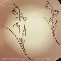grief poem small snowdrop tattoo google search white snowdrop tattoo ...