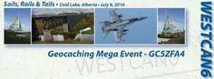 Sails Rails & Tails | Westcan6 Mega Geocaching Event