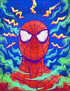 Pixalry — Spirited Away Fan Art - Created by Asur-Misoa You. Spiderman Kunst, Spiderman Spider, Mysterio Spiderman, Amazing Spiderman, Spider Man Comic, Marvel Comics, Marvel Heroes, Ms Marvel, Captain Marvel