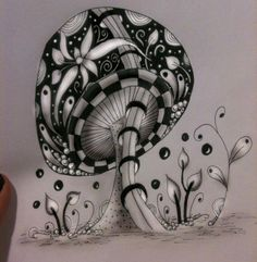 Mushroom by splatterpunked. I really need to get back into embroidery. miss it! :(