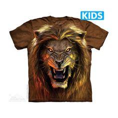 Beast Kids T-shirt  Het The Mountain Beast Kids t-shirt is gemaakt op basis van een handgekleurd Tye Dye T-shirt. Het T-shirt is gemaakt van 100% Katoen.  EUR 21.95  Meer informatie