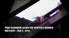 The Slender Alien of Nuevo Laredo Mexico July 2015