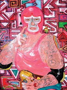 "Mexican wrestling (Lucha Libre ) is characterized by colorful masks, rapid sequences of holds and maneuvers, as well as ""high-flying"" maneuvers.  Lucha Libre in central Guadalajara, Mexico, is a favorite Mexican past time where peasants and others visited to escape daily life.  Ealy Mays describes wrestling in Mexico as psychiatry for the poor."