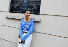 Tendências de moda - Cor da estação: Azul Claro
