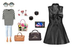 """""""Satchel Fashion..##"""" by yagna ❤ liked on Polyvore featuring Alexander McQueen, Yves Saint Laurent, Salvatore Ferragamo, Dolce&Gabbana, Marc Jacobs, Goen.J, AGOLDE, Odeeh, Bronzallure and Cutler and Gross"""