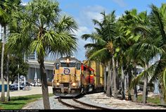 Florida East Coast, Miami Florida, Train Engines, Diesel Locomotive, Train Car, Diesel Engine, Old And New, Bridges, Planes